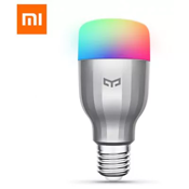 Xiaomi Yeelight AC220V RGBW E27 Smart LED Bulb - SILVER